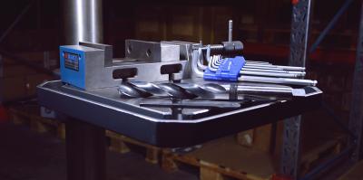 Søyleboremaskin del 3: Mer effektivt arbeid med riktig tilbehør